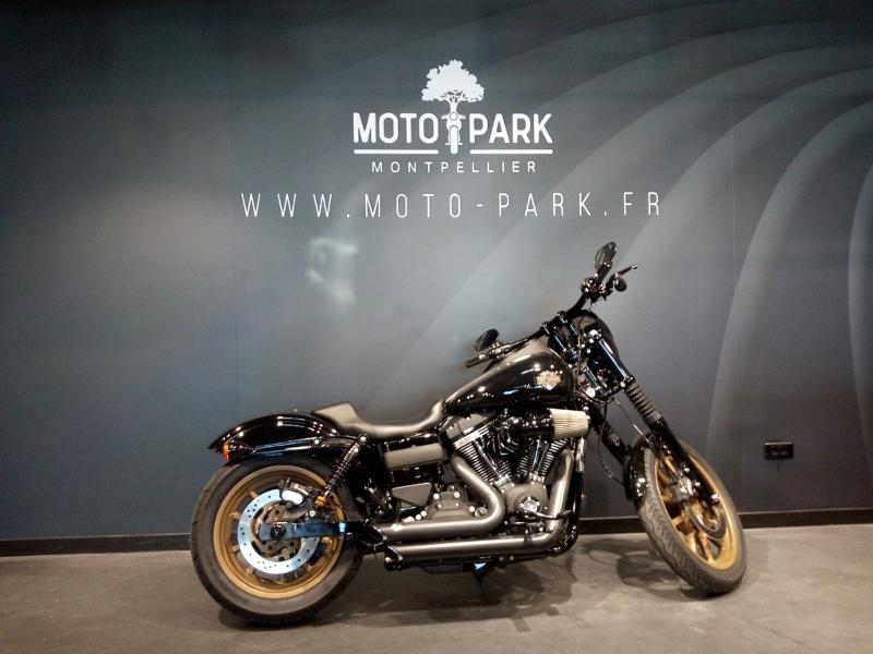 moto Dyna Low Rider S 1800 Noir ABS 2017