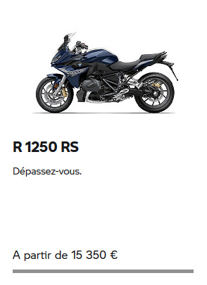 R 1250 RS BMW