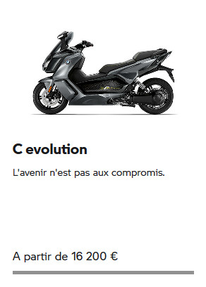 C EVOLUTION BMW