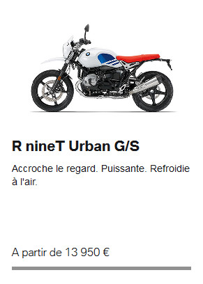 r nine t urban gs